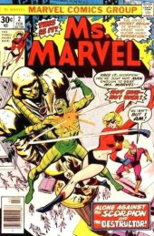 Ms. Marvel (1977) -2- Enigma of fear!