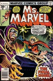 Ms. Marvel (1977) -4- Death is the doomsay man!