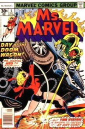 Ms. Marvel (1977) -5- Bridge of no return