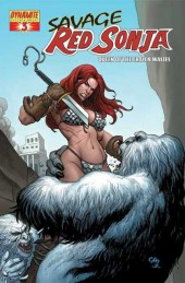 Savage Red Sonja: Queen of the Frozen Wastes (2006) -3- Queen of the frozen wastes, issue 3