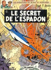 Blake et Mortimer (Historique) -2d82- Le Secret de l'Espadon 2