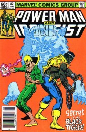 Power Man and Iron Fist (Marvel - 1978) -82- Secret Of the Black Tiger