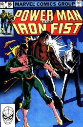 Power Man and Iron Fist (Marvel - 1978) -86- Golden Eye... Gleaming Death !