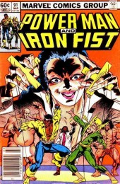 Power Man and Iron Fist (Marvel - 1978) -91- Paths and Angles
