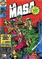 La masa (¡el increíble Hulk! - Bruguera) -5- ¡Lucha a muerte contra...El Hombre Quintrónico!
