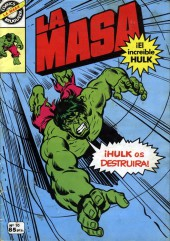 La masa (¡el increíble Hulk! - Bruguera) -10- ¡Hulk os destruirá!