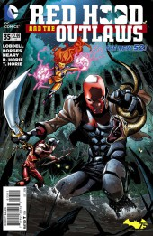 Red Hood and the Outlaws (2011) -35- Burned