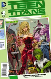 Teen Titans (2014) -1- Blinded by the Light, Part 1