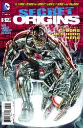 Secret Origins (2014) -5- Cyborg