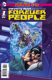 Infinity Man and the Forever People: Futures End (2014) -1- Before I Wake