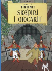 Tintin (en langues étrangères) -8Albanais- Skeptri i otocarit