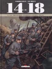 14-18 (Corbeyran/Le Roux) -4- La tranchée perdue (avril 1915)