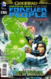 Infinity Man and the Forever People (2014) -6- The Terror of Mecha-Darkseid !