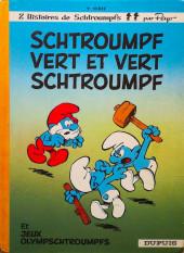 Les schtroumpfs -9b1978- Schtroumpf vert et vert schtroumpf