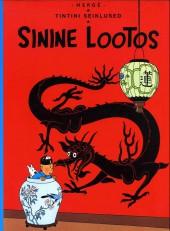 Tintin (en langues étrangères) -5Estonien- Sinine lootos