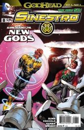 Sinestro (2014) -8- Godhead, Act III, Part V: War Council