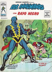 Héroes Marvel (Vol.2) -2- Los Inhumanos con Rayo Negro