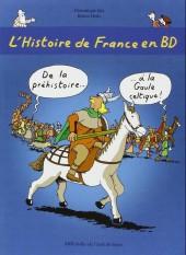 L'histoire de France en BD (Joly/Heitz) -1- De la préhistoire... à la Gaule celtique