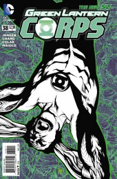 Green Lantern Corps (2011) -38- The Dark