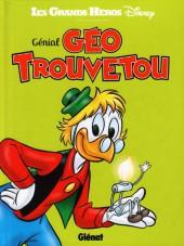 Les grands Héros Disney -5- Génial Géo Trouvetou