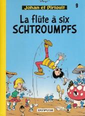 Johan et Pirlouit -9c1982- La flûte à six schtroumpfs