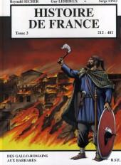 Histoire de France -3- Des Gallo-Romains aux barbares 212 - 481