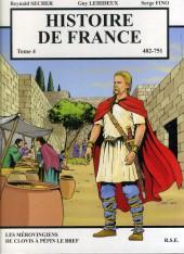 Histoire de France -4- Les Mérovingiens de Clovis à Pépin le Bref 482 - 751
