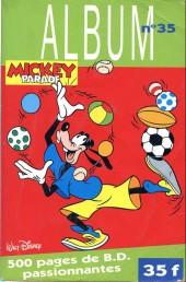 Mickey Parade -3REC35- 3e série - Album n°35 (n°195, 196, et 197)