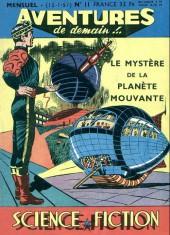 Aventures de demain !.. -11- Le mystère de la planète mouvante