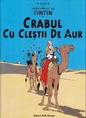 Tintin (en langues étrangères) -9Roumain- Crabul cu clestii de aur