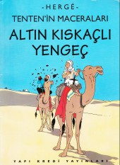 Tintin (en langues étrangères) -9Turc- Altin kiskaçli yengeç