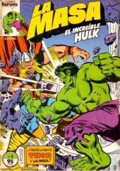 Masa (la) (El increíble Hulk - Forum) -5- ¡Frente a frente Thor y La Masa!
