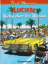 Lucien (et cie) -7- Ricky chez les Ricains