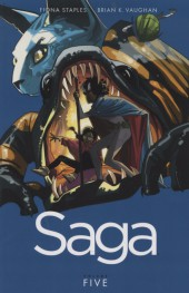 Saga (Image comics - 2012) -INT05- Saga - Volume Five