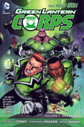 Green Lantern Corps (2011) -INT01- Fearsome