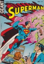 Superman Géant (Sagédition - 2e série) -Rec09- Album Fantaisies Géant N°4 (du n°25 au n°27)