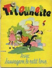 Titounet et Titounette -10- Titounet Titounette avec Sauvageon, le petit loup