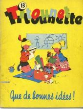 Titounet et Titounette -13- Que de bonnes idées !