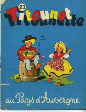 Titounet et Titounette -23- Titounet Titounette au pays d'Auvergne