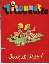 Titounet et Titounette -24- Jeux et rires !