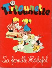Titounet et Titounette -30- La famille Herbefol