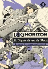 Log Horizon - La brigade du vent de l'ouest -3- Tome 3