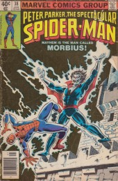 Spectacular Spider-Man (The) (1976) -38- Curse of the living vampire!