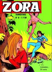 Zora -8- Une star dans la jungle