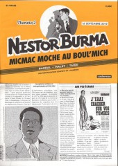 Nestor Burma (Feuilleton) -2- Micmac moche au Boul'Mich - Numéro 2