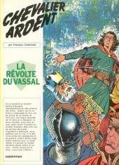 Chevalier Ardent -11- La révolte du vassal