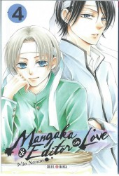 Mangaka & Editor in Love -4- Tome 4