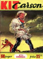 Kit Carson -93- Kit Carson dompte Cheval Rusé