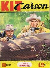 Kit Carson -114- Kit Carson et les trois proscrits