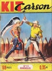 Kit Carson -113- Kit Carson et le guerrier pacifique